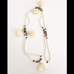 India Hicks No Hassle Tassel necklace